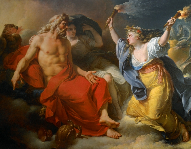 Ceres Demeter search for Persephone